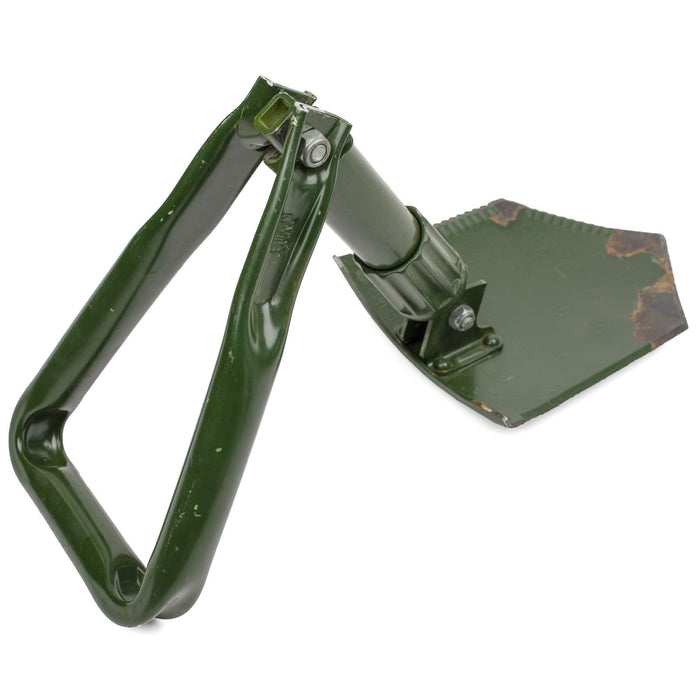german army folding shovel