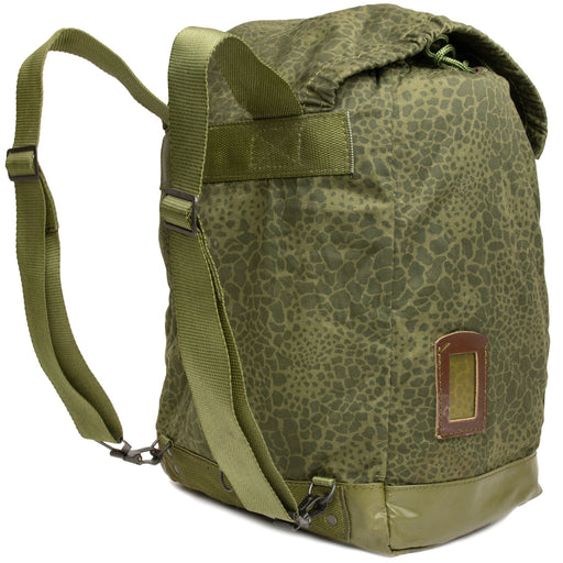 Polish Army Leopard Camo Backpack Straps