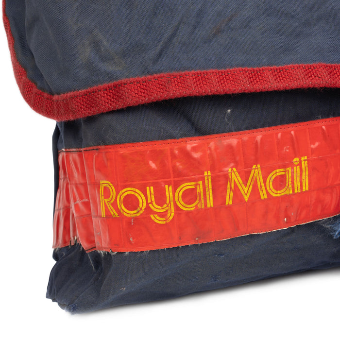 British Royal Mail Bag Blue Logo