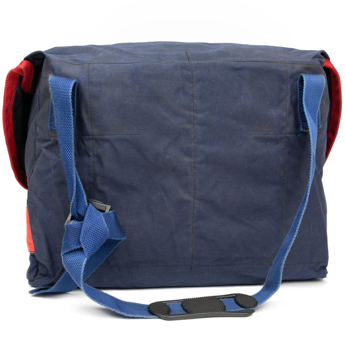 Blue British Royal Mail Courier / Messenger Bag