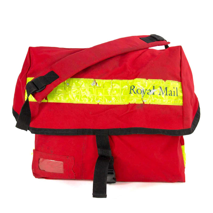 Yellow British Royal Mail Courier Bag