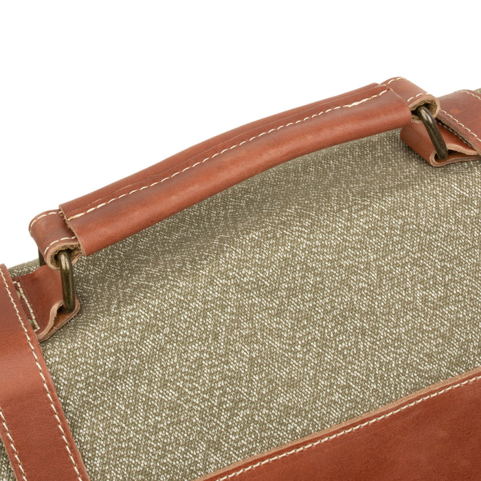Swiss Salt & Pepper Shoulder Bag | Reproduction