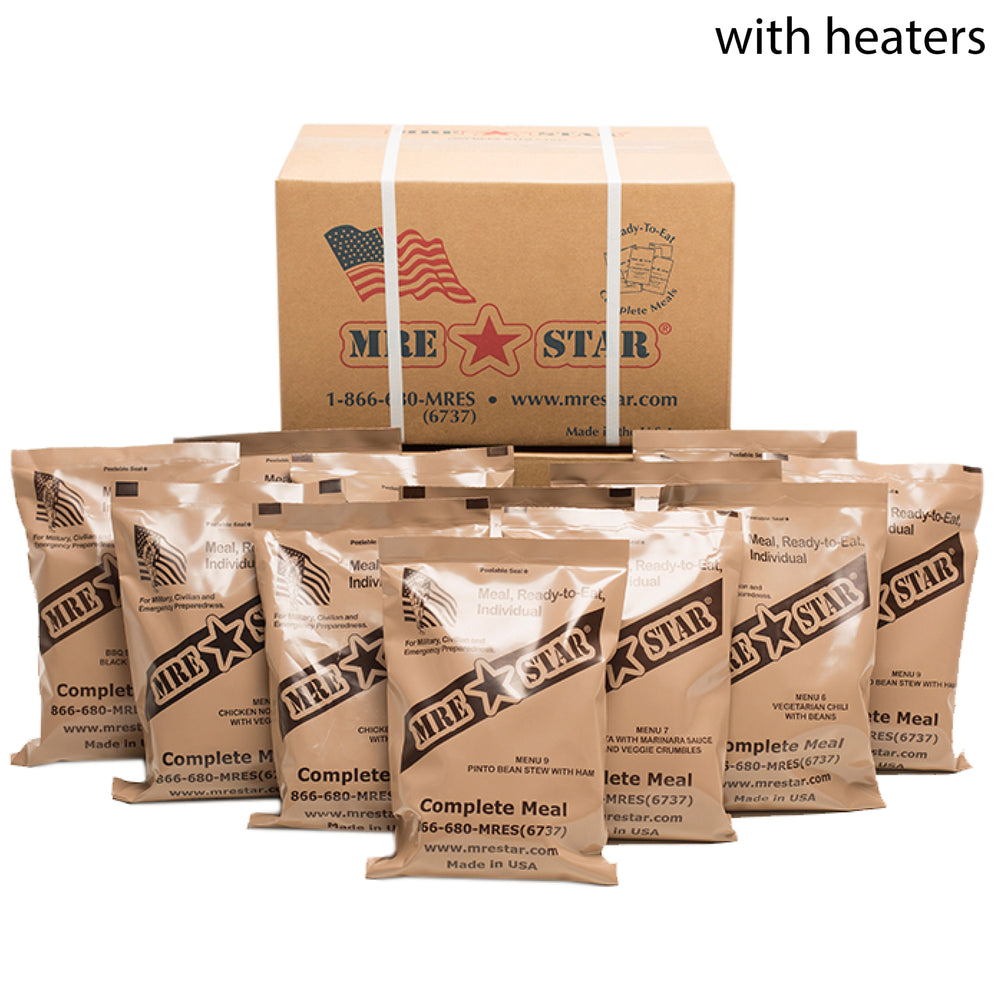 Case of 12 MRE STAR Standard W/Heater (M-018H)
