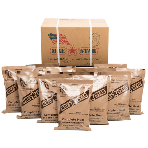 Case of 12 MRE STAR Standard (M-018)