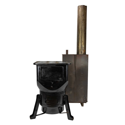 Wood Burning Czech Army Cast Iron Stove
