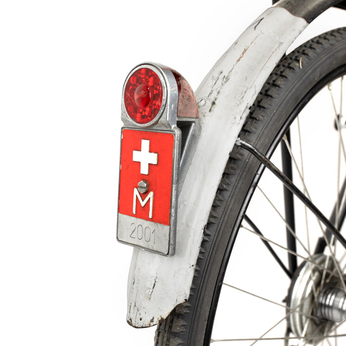 Swiss Army Issue WWII Bicycle Flag