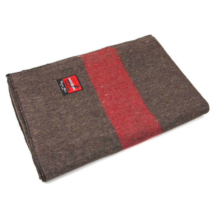 Swiss Army Reproduction Classic Wool Blanket Swiss Link