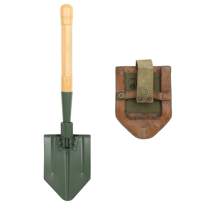 Swiss Folding Shovel Reproduction | Original Cover