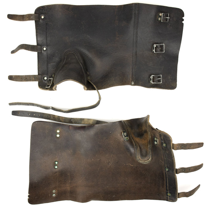 Real Leather Gaiters