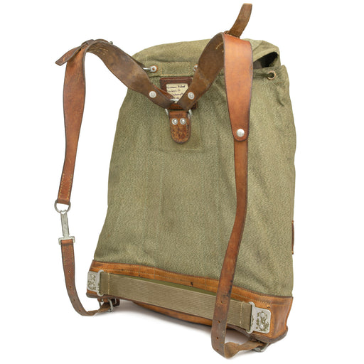 Swiss Salt Pepper Backpack Large Straps