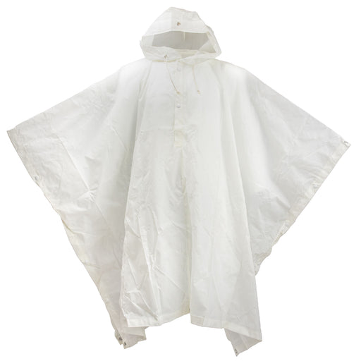 White Swiss Snow Poncho