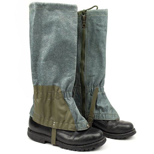 Swiss Army Wool Gaiters w/Zipper | New