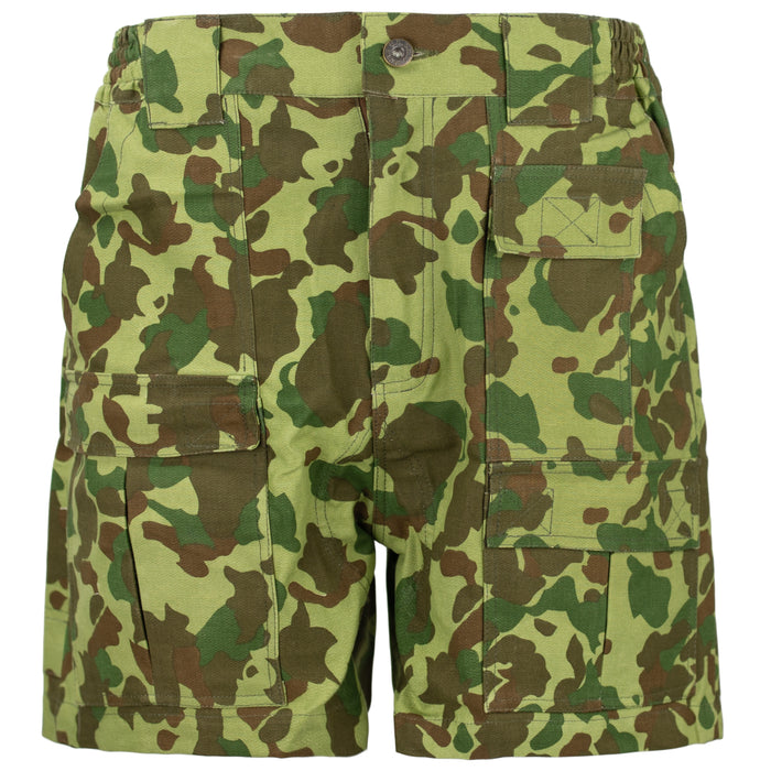 USMC WWII Reproduction Shorts | Jungle + Beach Camo