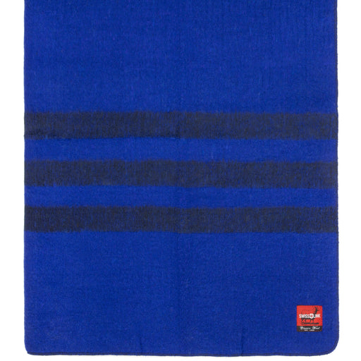 Royal Blue Classic Wool blanket