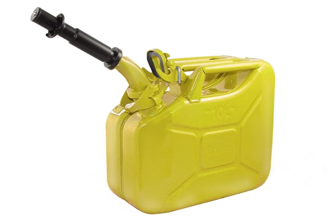 Yellow 10L Fuel Can