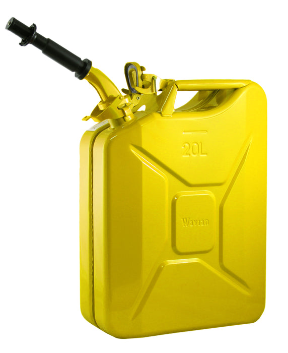 Yellow 20L Fuel Can