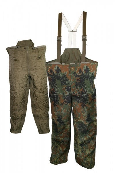 German Flecktarn Sympatex Pants w/Liner