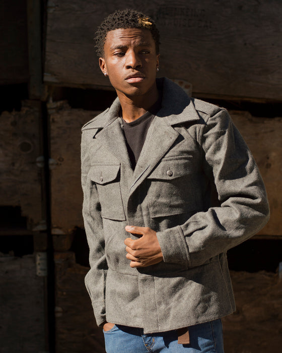 Finnish Wool Jacket - Army Navy