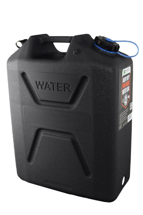Black 5 Gallon Water Can