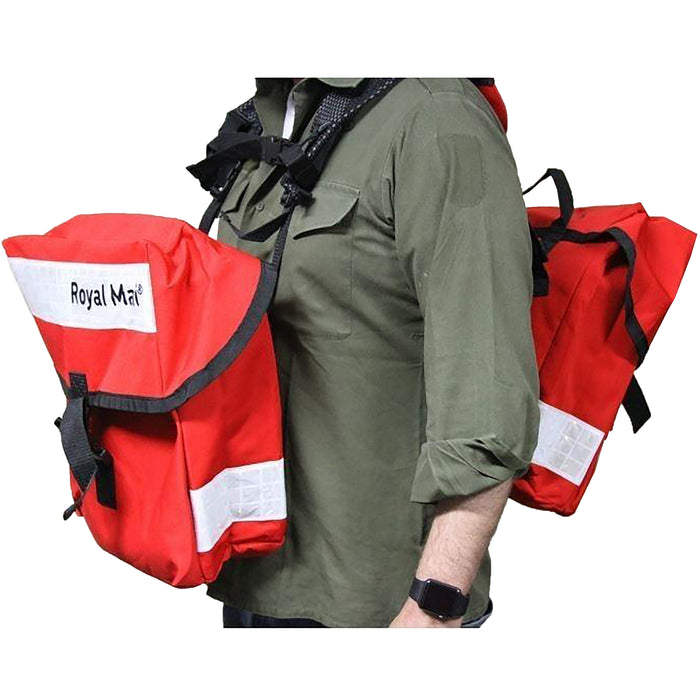 British Royal Mail Courier Panniers