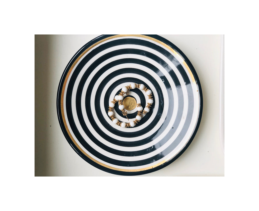 STRIPED PLATE SMALL