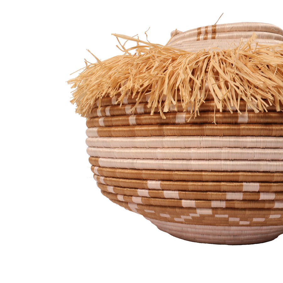 Fringe Floor Basket