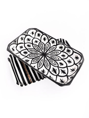 ZWAK CERAMIC TRAY - BLACK