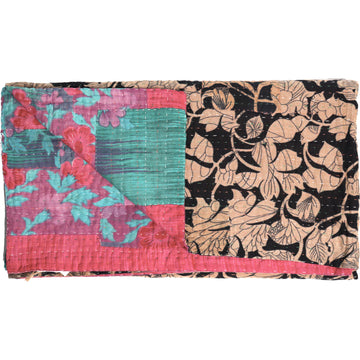 Standard Vintage Kantha Throw: Pnomila's seasons