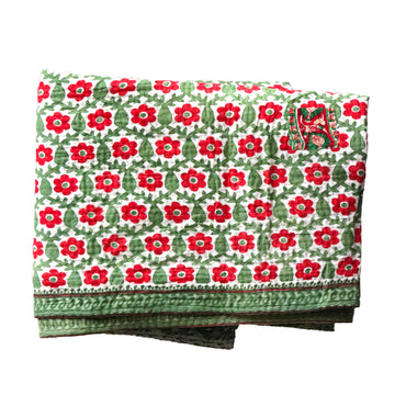 Double Vintage Kantha Throw H5