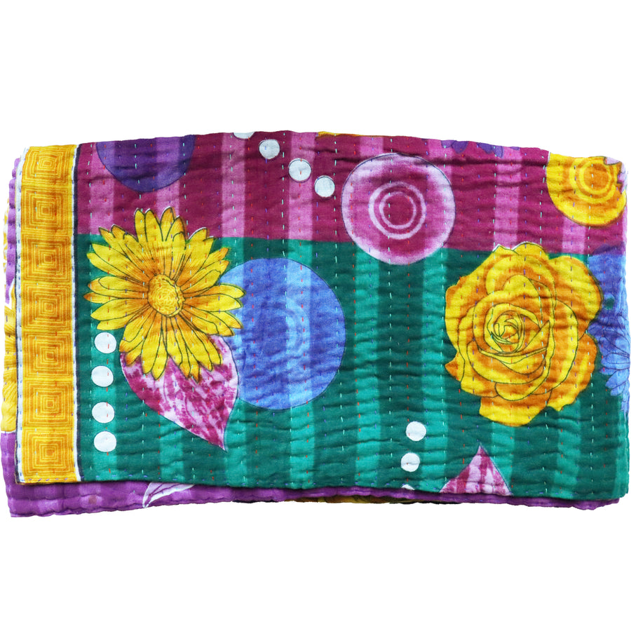 Standard Vintage Kantha Throw M9