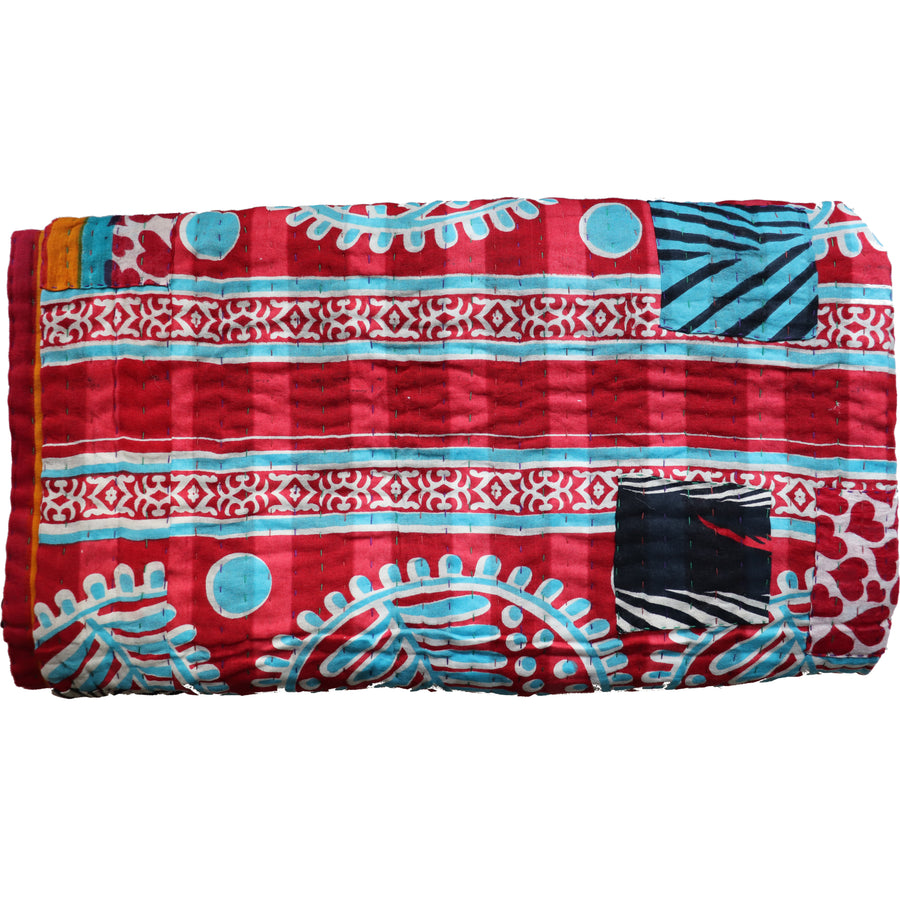 Standard Vintage Kantha Throw M13