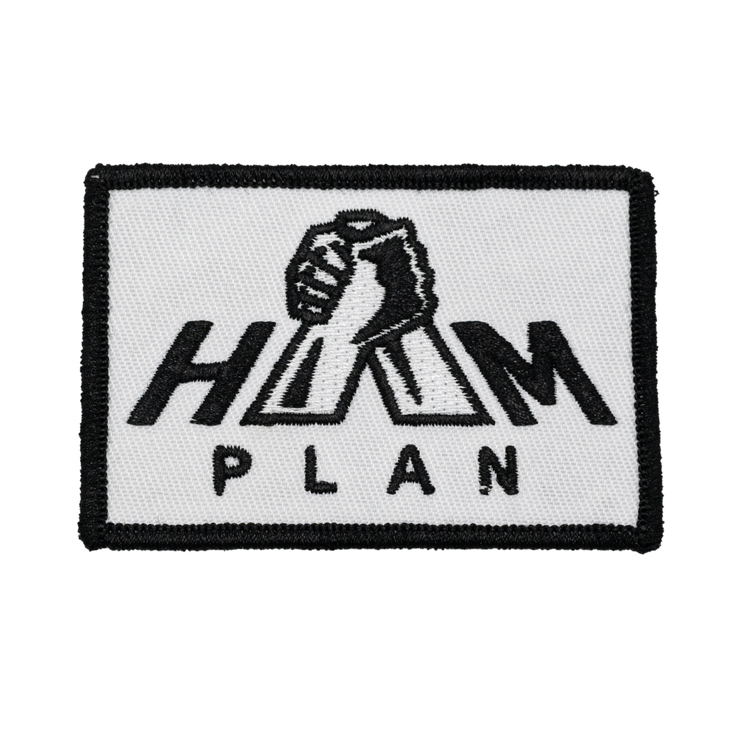 Black & White HAM Plan Patch