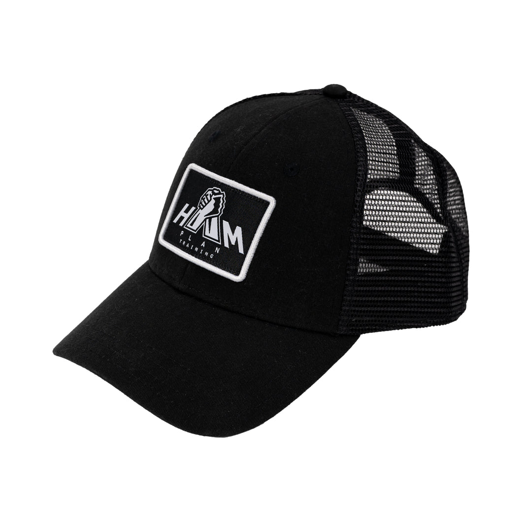 Black HAM Plan Patch Hat