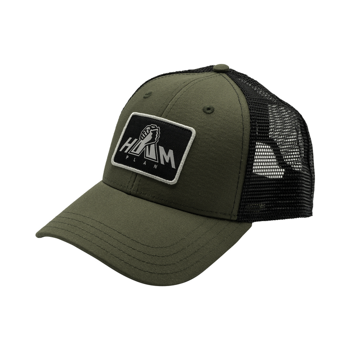 Olive Drab Green HAM Plan Patch Hat