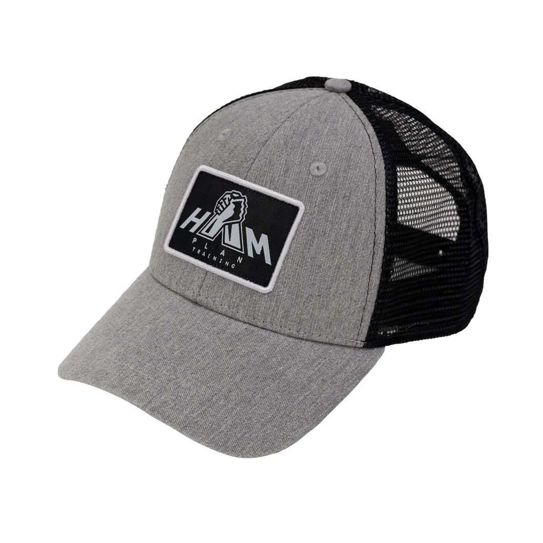 Grey HAM Plan Patch Hat