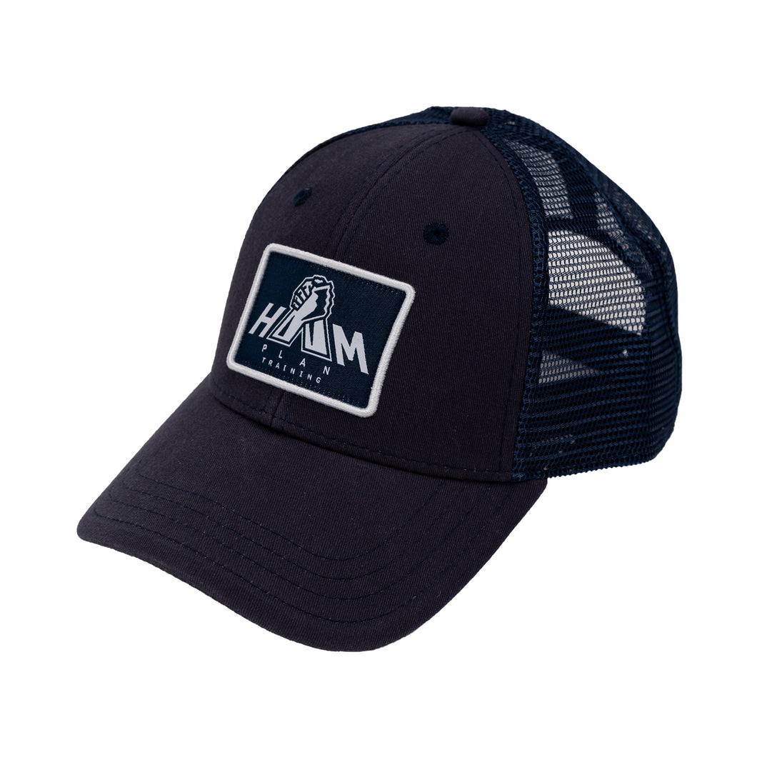 Navy Blue HAM Plan Patch Hat
