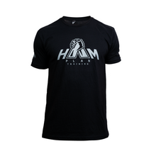 Load image into Gallery viewer, Black HAM Plan T-Shirt