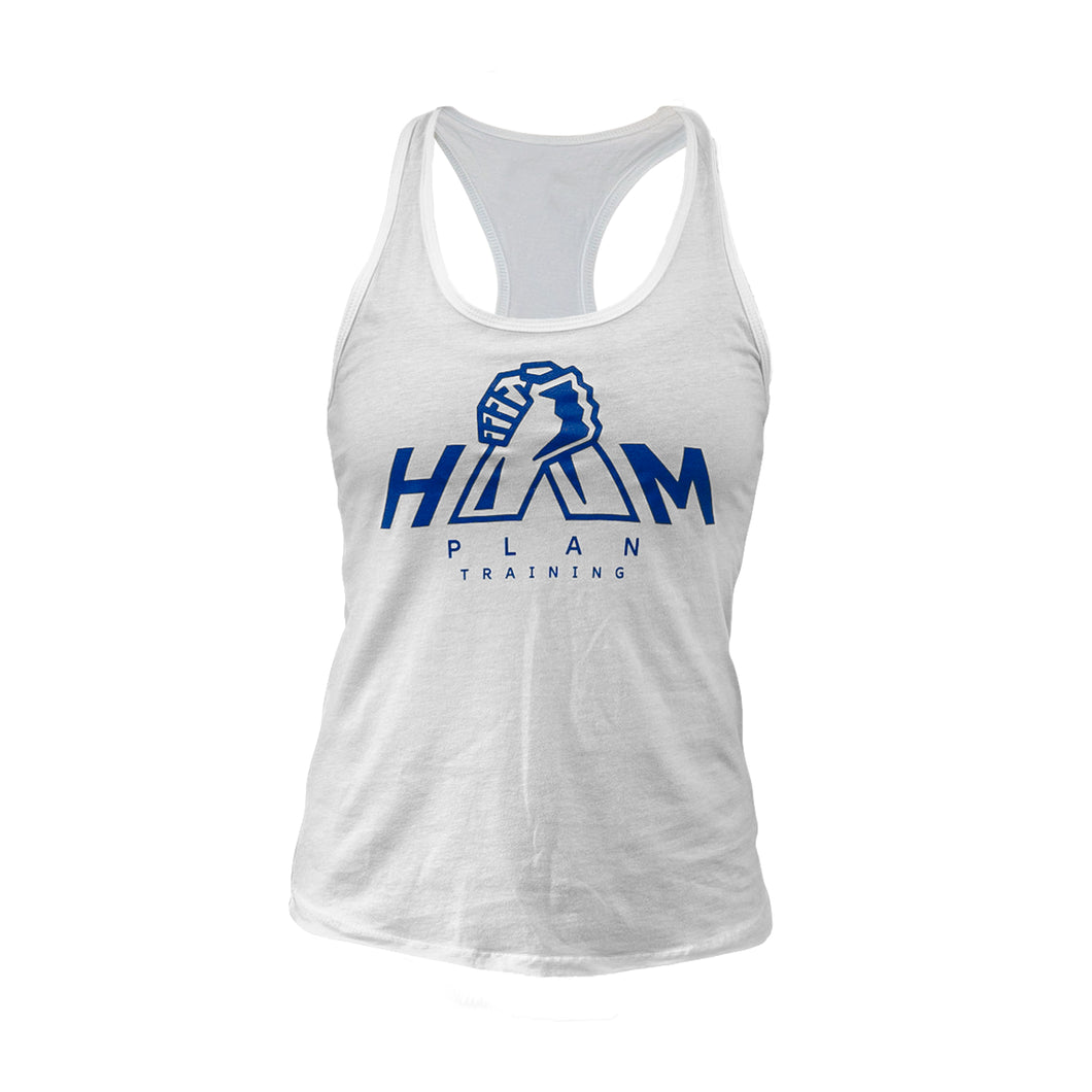 White HAM Plan Women's Tank Top