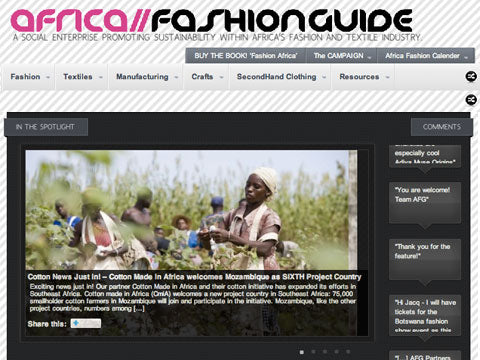 Africa Fashion Guide by Jacqueline Shaw
