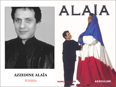 Alaïa with opera-singer Jessye Norman