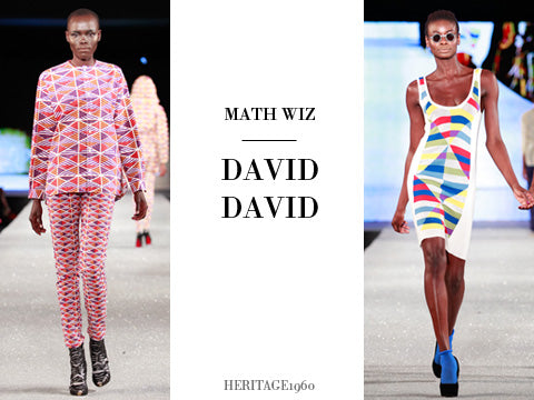 4. Math Wiz - Geometric prints came charging down the runway. (Photography: Simon Armstrong)