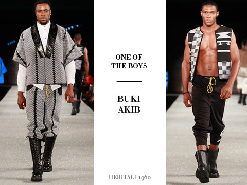 11. One of the Boys - This menswear collection was as full of androgyny as it was with bare-chested men. (Photography: Simon Armstrong)