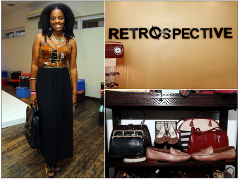 From Left: Yoanna Okwesa  From Right: Retrospective logo