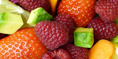 Does applying fresh fruits and vegetables to the skin work the same as applying skin care products?
