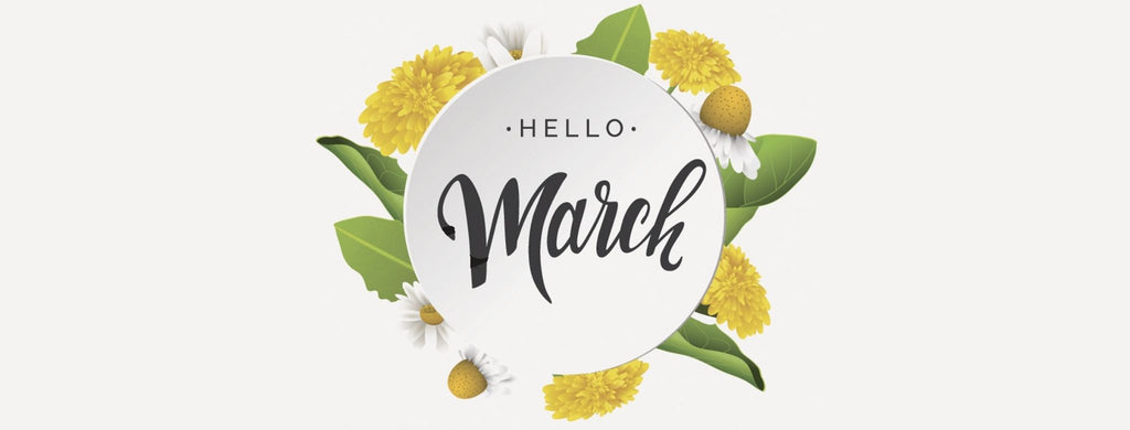 Welcome March! If you're looking for a sign, THIS IS IT