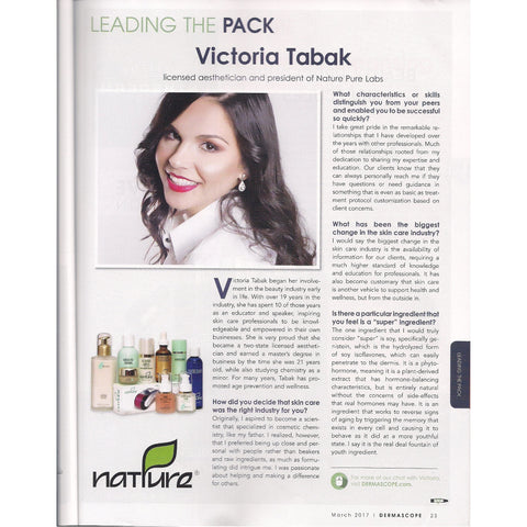 Leading the Pack - Dermascope Magazine March 2017 Issue