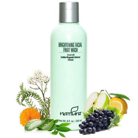 Brightening Facial Fruit Wash with AHA