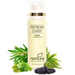 Professional Purifying Milk Cleanser with Organic Hemp Seed Oil