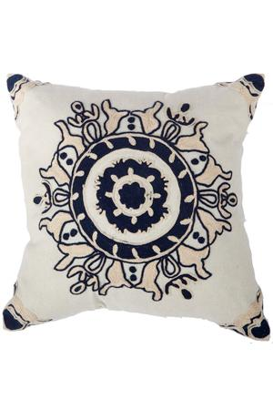 Mia Embroidered Pillow