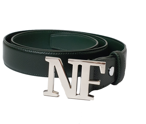 NF Saffiano Leather Belt